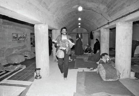 پناهگاه دبیرستان شرف، 27 اسفند 66